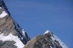 Alpi svizzere Jungfraujoch Fotografia Stock Libera da Diritti