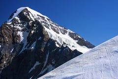 Alpi svizzere Jungfraujoch Immagini Stock Libere da Diritti