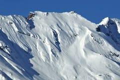 Alpi svizzere la cresta della sommità del sesso Noir Fotografia Stock