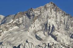 Alpi svizzere. La sommità del Weisshorn Fotografia Stock