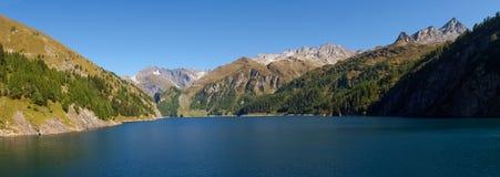 Alpi svizzere, lago di Luzzone Immagine Stock