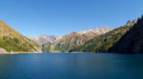 Alpi svizzere, lago di Luzzone Immagini Stock
