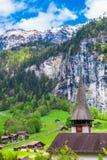 Alpi svizzere Lauterbrunnen, Svizzera, Europa Fotografia Stock
