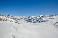 Alpi svizzere maestose Immagine Stock
