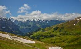Alpi svizzere maestose Immagine Stock Libera da Diritti