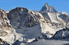 Alpi svizzere. Matterhorn Immagini Stock