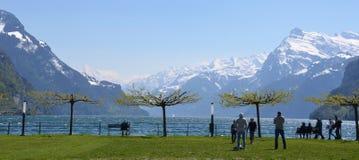 Alpi svizzere - montagne di Bernese immagini stock