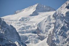 Alpi svizzere - montagne Grindelwald di Bernese immagini stock libere da diritti
