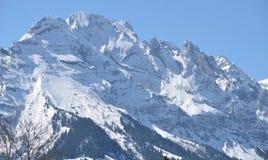 Alpi svizzere - montagne Grindelwald Eiger Jungfrau di Bernese fotografie stock libere da diritti