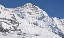 Alpi svizzere - montagne Grindelwald Eiger Jungfrau di Bernese immagini stock