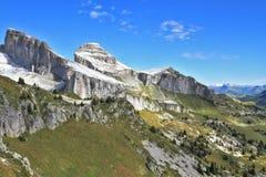 Alpi svizzere nella caduta in anticipo Fotografia Stock Libera da Diritti