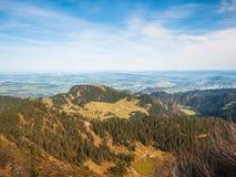 Alpi svizzere nella regione di Lucerna Fotografie Stock Libere da Diritti