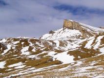Alpi svizzere - San Bernardino Fotografia Stock Libera da Diritti