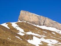 Alpi svizzere - San Bernardino Immagini Stock