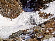 Alpi svizzere - San Bernardino Immagine Stock