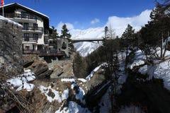 Alpi svizzere sceniche Fotografie Stock Libere da Diritti