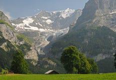 Alpi svizzere Stunning Fotografie Stock