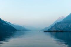 Alpi svizzere uri Fotografia Stock Libera da Diritti