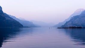Alpi svizzere uri Immagine Stock