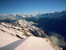 Alpi svizzere Vicino ad Interlaken Fotografia Stock
