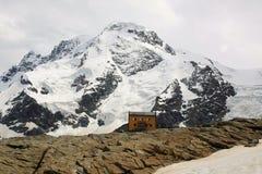 Alpi svizzere vicino al Cervino Immagini Stock