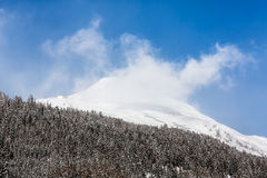 Alpi svizzere vicino a Tavate, Svizzera Fotografie Stock