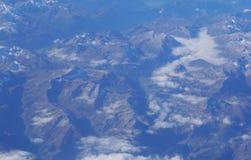 Alpi svizzere, vista aerea Immagine Stock Libera da Diritti