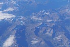 Alpi svizzere, vista aerea Immagini Stock Libere da Diritti