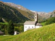 Alpi svizzere, walley di Blenio Fotografie Stock Libere da Diritti