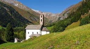 Alpi svizzere, walley di Blenio Immagine Stock