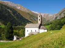 Alpi svizzere, walley di Blenio Immagine Stock Libera da Diritti
