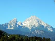 "Alpi tedesche ""terra ""di Watzmann ""della montagna di Berchtesgadener "" fotografie stock libere da diritti"