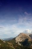 Alpi tedesche Fotografia Stock Libera da Diritti