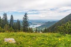 Alpi tedesche Fotografia Stock