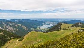 Alpi tedesche Immagine Stock