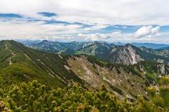 Alpi tedesche Immagini Stock Libere da Diritti