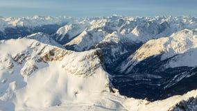Alpi tedesche Fotografie Stock Libere da Diritti