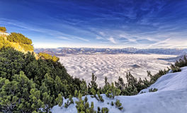 Alpi tedesche & austriache Fotografia Stock