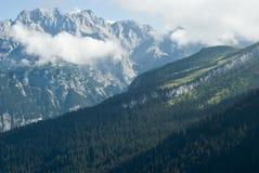 Alpi tedesche in Baviera Immagine Stock Libera da Diritti