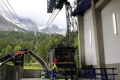 Alpi tedesche durante l'estate Immagini Stock
