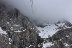 Alpi tedesche durante l'estate Fotografie Stock Libere da Diritti
