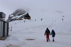 Alpi tedesche durante l'estate Immagine Stock Libera da Diritti
