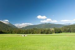 Alpi tedesche vicino a Berchtesgaden Immagini Stock