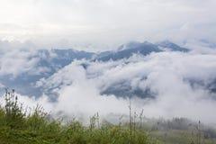 Alpi tirolesi Fotografie Stock Libere da Diritti