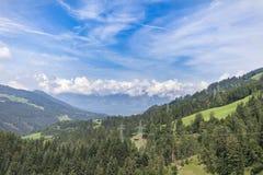Alpi tirolesi Fotografie Stock