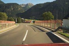 Alpi tirolesi Fotografia Stock