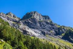 Alpi vicino a Kandersteg Immagine Stock Libera da Diritti