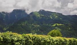 Alpi vicino a Mayrhofen tirol l'austria Immagine Stock