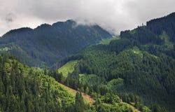 Alpi vicino a Mayrhofen tirol l'austria Fotografia Stock