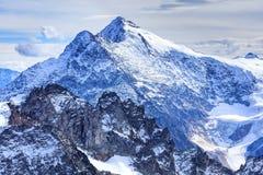 Alpi, vista dal Mt Titlis Immagine Stock Libera da Diritti